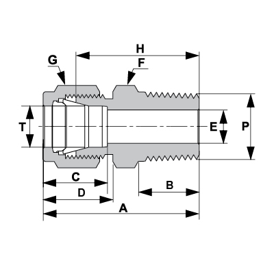 tube fittings connector tube fitting male connector. Black Bedroom Furniture Sets. Home Design Ideas